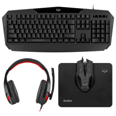 Sven GS-4300, Black, USB/3.5mm