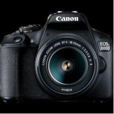 Canon EOS 2000D Bk & EF-S 18-55 IS II