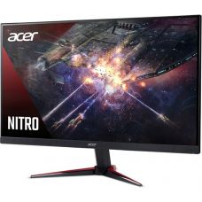 "23.8"" ACER IPS LED Nitro VG240Y ZeroFrame Black/Red (1ms, 100M:1, 250cd, 1920x1080, 178°/178°, VGA, HDMIx2 ,Speakers 2 x 2W, CrystalBrite, VESA) [UM.QV0EE.001]"