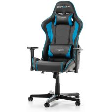 DXRacer - Formula GC-F08-NB-H1, Black/Black/Blue - PU leather, Gamer weight up to 100kg / growth 145-180cm, Foam Density 52kg/m3, 5-star Aluminum IC Base, Gas Lift 4 Class, Recline 90*-135*, Armrests: 3D, Pillow-2, Caster-2*PU, W-23kg