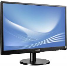 "21.5"" Philips ""223V5LHSB"", Black (TN LED, 1920x1080 Full-HD, 0.248mm, 5ms, 250 cd/m?, DCR 10 Mln:1 (1000:1), 16.7M Colors, 170°/160° @C/R>10, 30-83 kHz(H)/56-76 Hz(V), HDMI + Analog D-Sub"