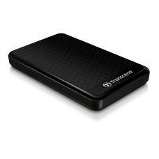 "2.0TB (USB3.0) 2.5"" Transcend ""StoreJet 25A3"", Black, Anti-Shock, One Touch Backup"