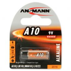A10 Ansmann Battery Zinc, 9V, 1bc