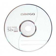 CD-R 80min/700MB, 52x, Omega