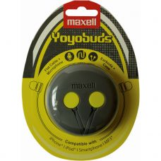 MAXELL YOYO BUDS Grey/Yellow