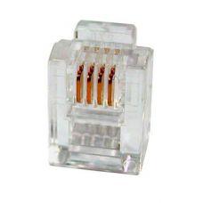 """Modular Plug RJ-12, MP-6P4C (3u"""")"""