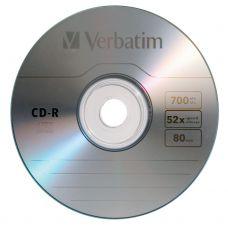 CD-R 80min/700MB, 52x, Verbatim Extra Protection