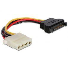 SATA (male) to Molex (female) power cable, 0.15 m