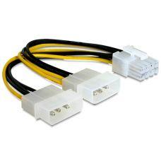 Power cable PCI-E 8pin - Molex x 2