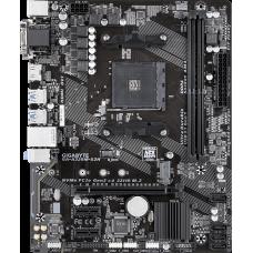 AM4 Gigabyte GA-A320M-S2H, AMD A320, Dual 2xDDR4-3200, APU AMD graphics, VGA, DVI, HDMI, 1xPCIe X16, 4xSATA3, RAID, 1xM.2 slot, 2xPCIe X1, ALC887 HDA, GbE LAN, 6xUSB3.1, mATX