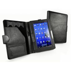 "Cover 7"" Archos 70b Tuff-Luv Traditional Book Folio Veggie Leather case cover for Archos 70b e-reader"