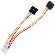SATA Power cable 15cm x2 Gembird CC-SATA-PSY